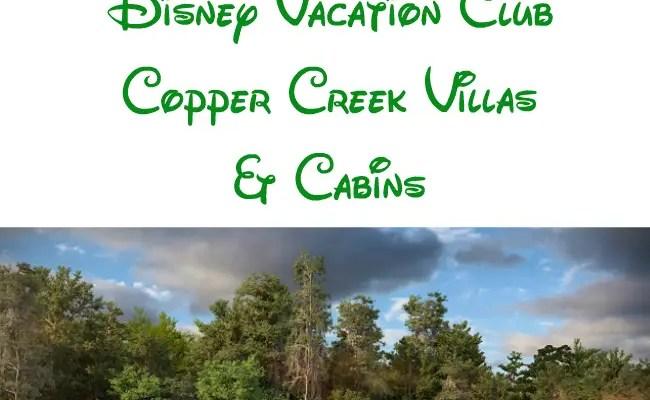 A First-Look at Disney Copper Creek Villas & Cabins