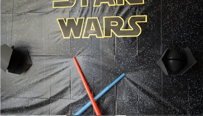 Kids Star Wars Party Ideas #DisneyKids