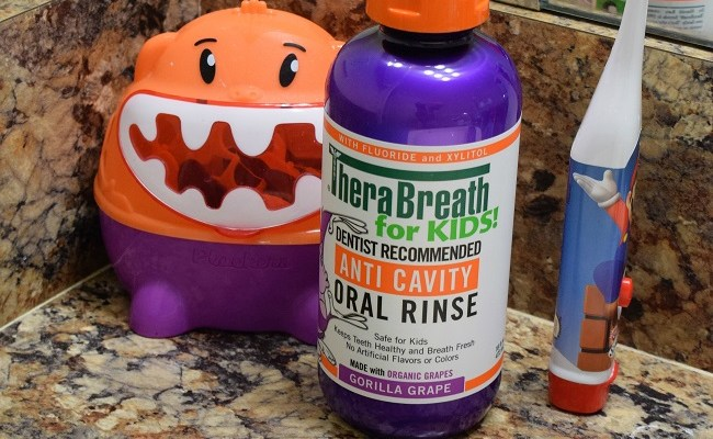 TheraBreath for Kids Mouth Rinse + Printable Teeth Jokes for Kids