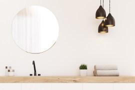 Light Neutrals Create Attractive Bathrooms