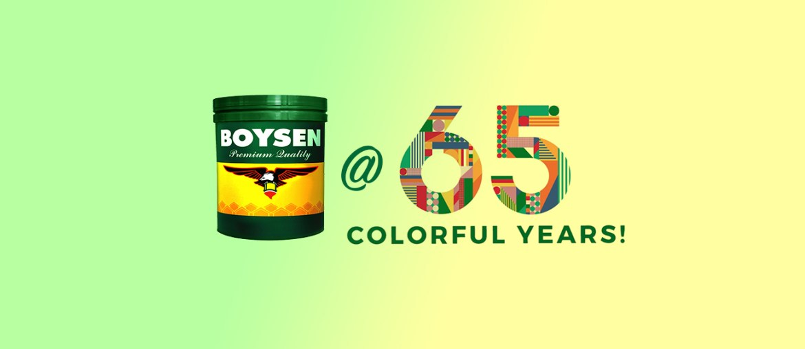 Color Pairing: Green and Yellow To Celebrate the Boysen Colors