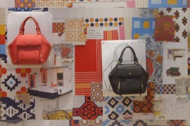 Color Trend 2018 BE SEEN Palette in Tory Burch Style