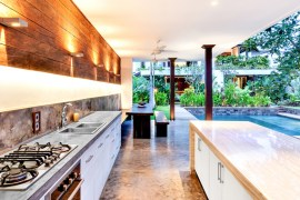 The Fresh Colors of Bali as Inspiration for Your Kitchen