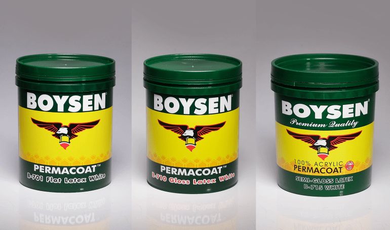 Boysen Permacoat Types of White Paint