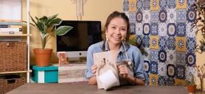 Krafty Kriz: How to Make a Toilet Paper Holder