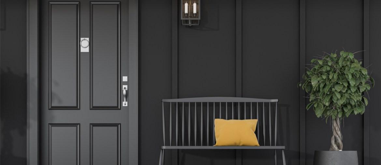 Black Home Exteriors with Greenery | MyBoysen
