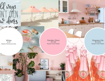 A Paint Color Palette for a Relaxing Beach Home | MyBoysen