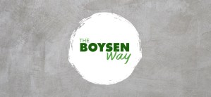 The Boysen Way: Concrete