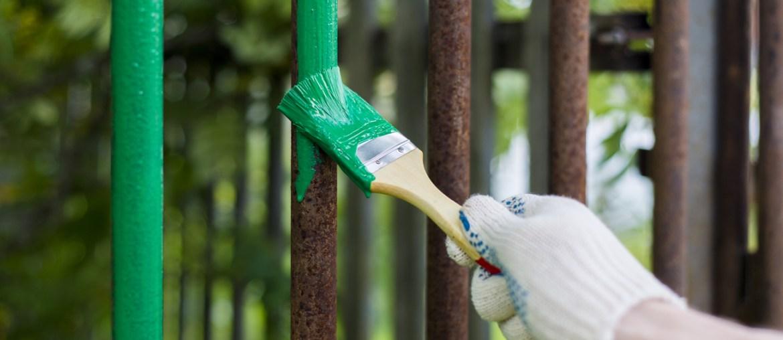 Boysen Tutorials on How To Paint A Rusty Metal Gate | MyBoysen