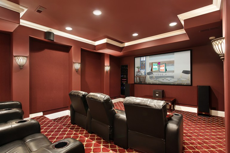 Show-Stopping Painting Ideas for Your Home Theater | MyBoysen