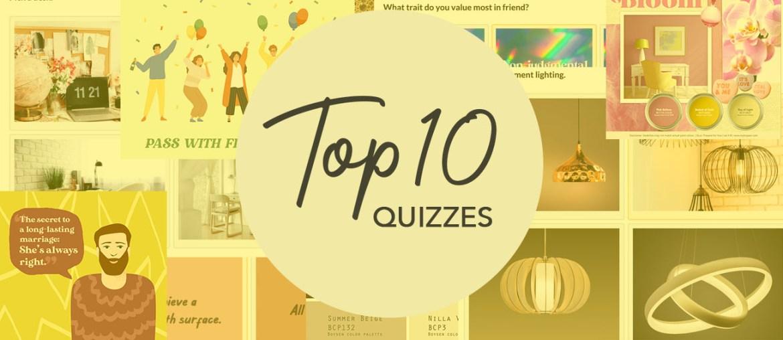 MyBoysen's Top 10 Fun Quizzes   MyBoysen