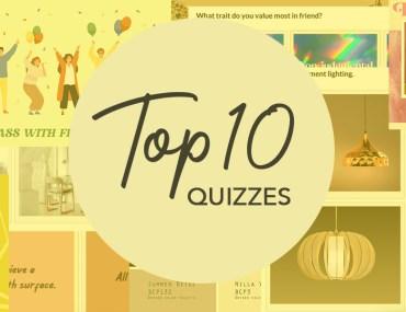 MyBoysen's Top 10 Fun Quizzes | MyBoysen