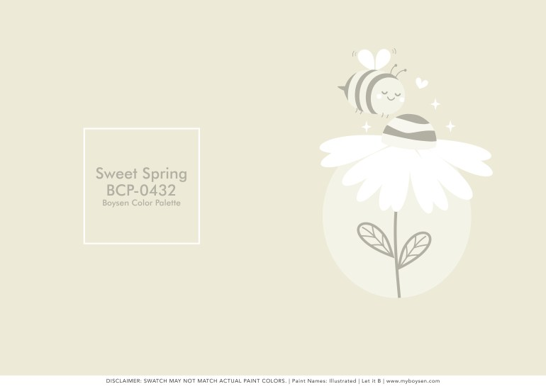 Paint Names Illustrated: Spring Has Sprung | MyBoysen