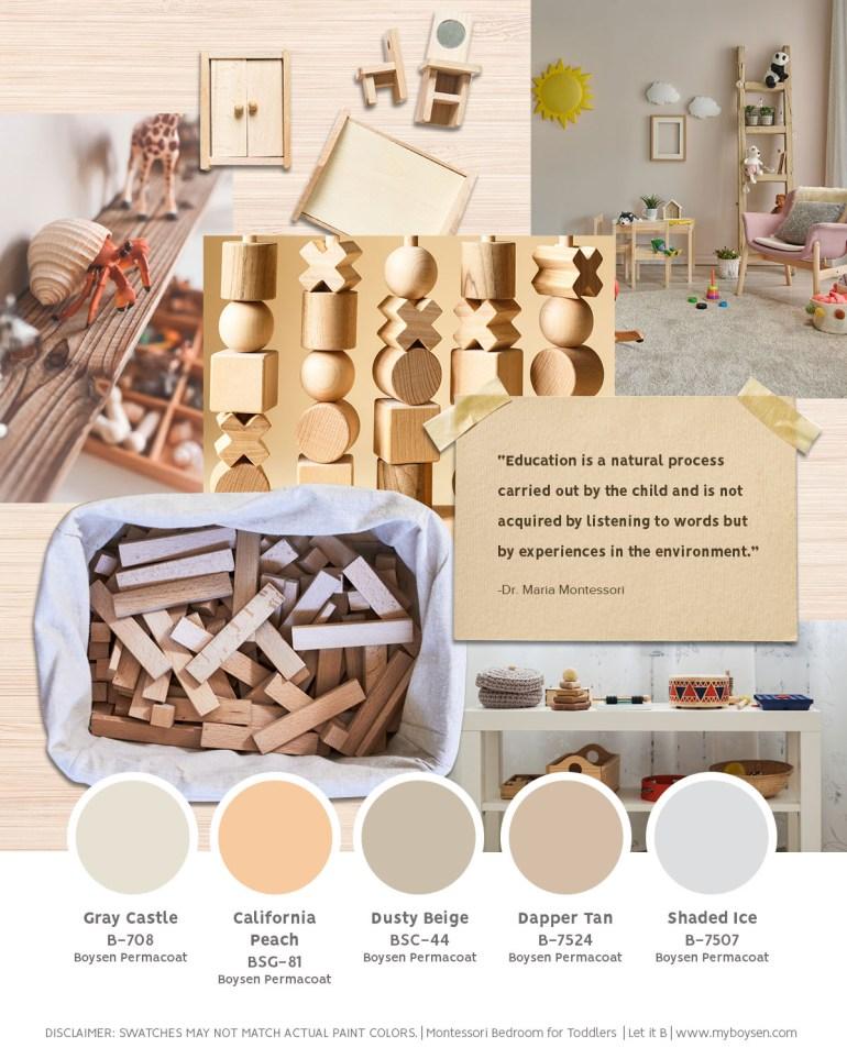 Montessori Bedroom for Toddlers   MyBoysen