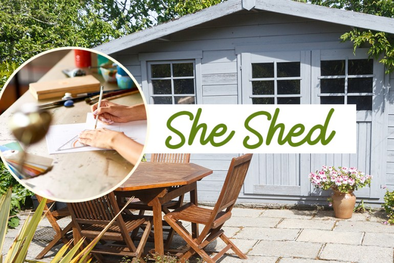 She Sheds: The Female Equivalent to the Man Caves   MyBoysen