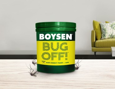 This Paint Can Kill Mosquitoes and Other Nasty Insects | MyBoysen