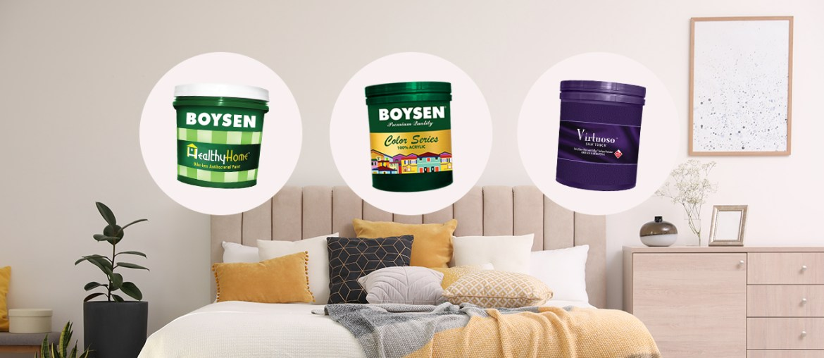 3 Top Choice Paint Products for Bedrooms