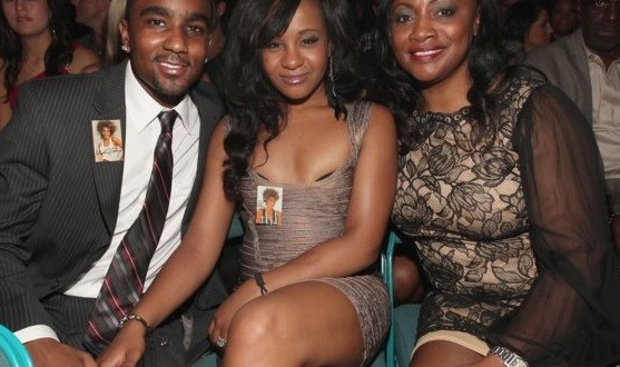 Bobbi Kristina Brown with her Aunt Pat Houston and Boyfriend Nick Gordon at the Billboard Award
