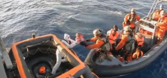 Italy: rescued more than 4,200 refugees from the Mediterranean Sea
