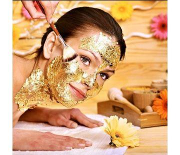 24 karat gold facial treatment
