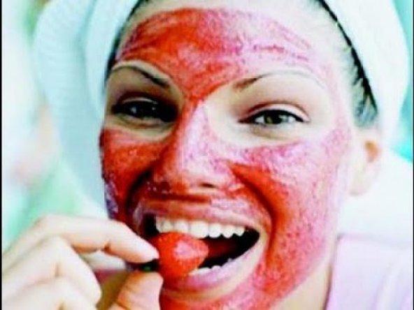 Homemade facial mask - Strawberry mask