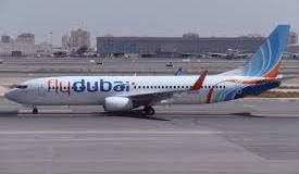 Fly Dubai Airline Plane