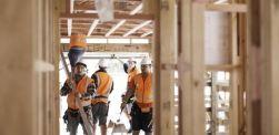 builders constructing