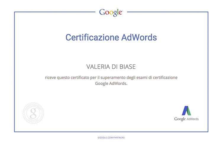 Certificazione ADWORDS Valeria copy
