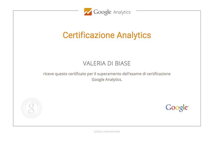 Certificazione ANALYTICS Valeria copy