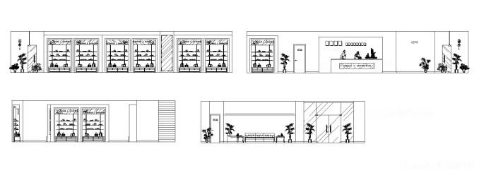 精品店,百貨公司展示櫃,國際精品店設計,商業空間設計圖,展示櫃,櫃台,陳列架,服飾店,系統櫃