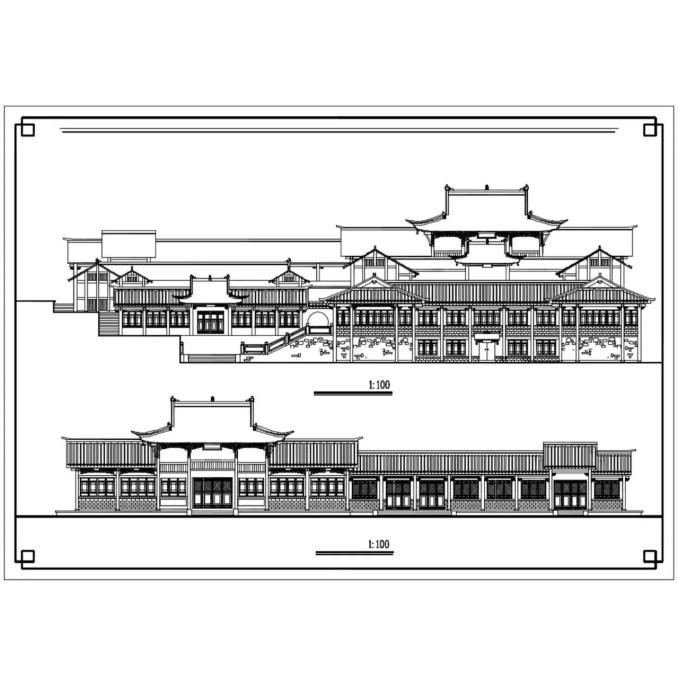 中式古建築立面、亭子 ,傳統樣式亭子、硬山頂、懸山頂、歇山頂、廡殿頂、攢間頂、卷棚頂,中國風古典設計,中式元素及精選案例,臺基,柱礎,鋪面,欄杆,屋身,斗栱,屋頂,門與窗,隔斷,天花與藻井,裝飾,中國景觀庭園元素,窗戶設計,門設計,梁、柱、檁、椽、枋,中國風牆面樣式,剖立面設計圖