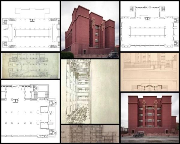 Larking BuiIding拉金行政辦公樓-法蘭克·洛伊·萊特 Frank Lloyd Wright