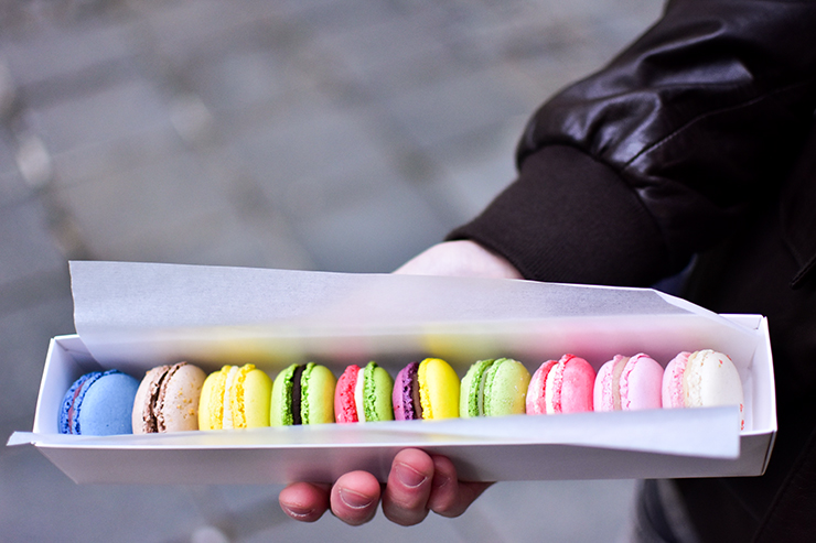 Taste the best Macarons in Graz: Mészáros