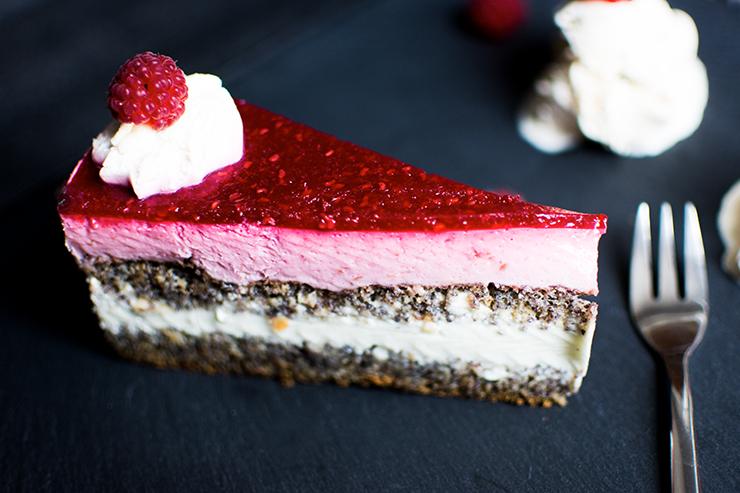 Kastanien-Creme-Torte & Himbeer-Mohn-Torte