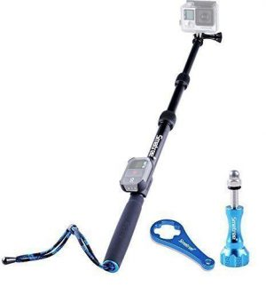 SmaPole S3 Detachable and Extendable Floating Pole for GoPro Hero sjcam