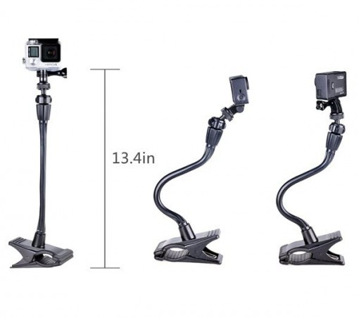 Ajustable Jaws Flex Clamp Mount for GoPro Hero 2