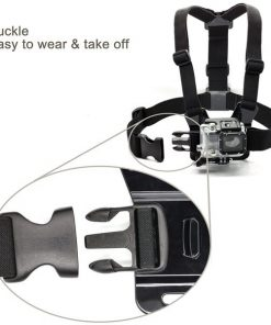 Adjustable Head Strap Mount + Chest Harness Belt Strap + Aluminum Thumbscrew + J-Hook for Gopro hero 2