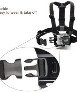 The chest strap mount lets you capture your knees & skis on the slopes, or your bike frame & handlebars. Product description: Chest Strap Mount, Thumbscrew, J-Hook are compatible with all GoPro cameras and sj4000 camera, fully adjustable to fit all sizes. 1.The chest strap mount lets you capture your knees & skis on the slopes, or your bike frame & handlebars. 2. Perfect for skiing, mountain biking, motocross, paddle sports, or any activity. 3. chest strap mount are made with Nylon Straps and Polycarbonate buckles.With mounts allow you the freedom and flexibility to capture a variety of previous moments. Package: 1 x Smatree Chest Strap Mount 4