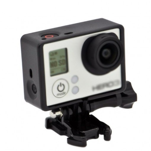 Frame Mount Housing with Thumb Knob and Buckle for Gopro