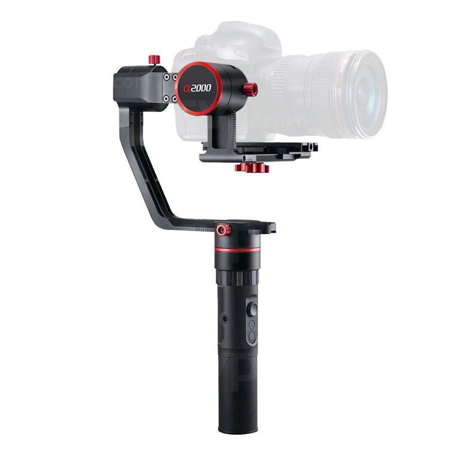 Feiyu A2000 3 Axis Handheld Gimbal For Mirrorless And Dslr Cameras Spg Steady Smartphones Extra Battrey