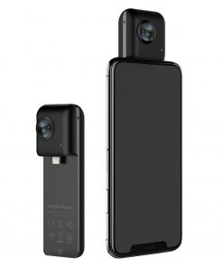 Insta360 Nano S Black Camera for iPhone