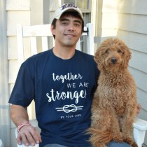 Caregiver, supportive, By your side shirt, Husband, Dog