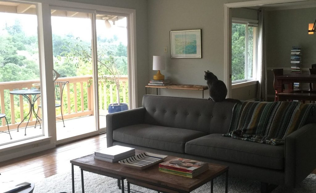 andre sofa recliner corner with cup holders in search of the perfect leather my canyon house our cat takes to from room and board background cb2 lamp anthropologie console beach photo easy book tower wayfair similar
