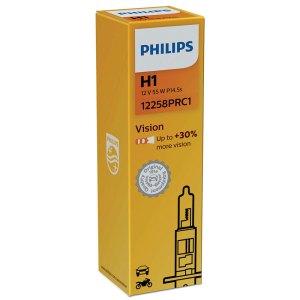 Λάμπα αυτοκινήτου philips H1 Vision pachage