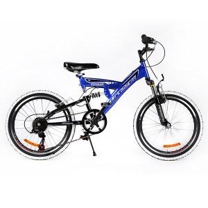 """Ποδήλατο VOYAGER 20"""" FULL SUSPENSION Μπλε"""