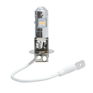 H3 12/24V PK22s 6W LED 8xSMD2828 PREMIUM ΛΕΥΚΟ 1ΤΕΜ.