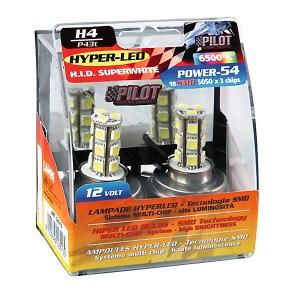ΛΑΜΠΑ Η4 HYPER-LED 6.500K 13 SMD