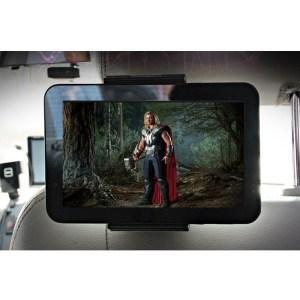 XENOMIX Βάση Στήριξης Tablet Προσκέφαλου Μαύρη SHG-HR100