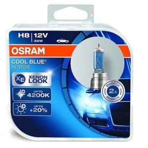 Λάμπες Αυτοκινήτου H8 12V 35W PGJ19-1 OSRAM COOL BLUE INTENSE 4.200K 2ΤΕΜ. ΚΟΥΤΙ