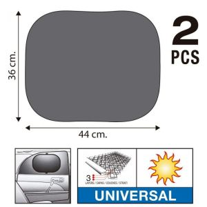 Sumex Κουρτινάκια Αυτοκινήτου Super UV 44X36 με Τριπλό Στρώμα Προστασίας